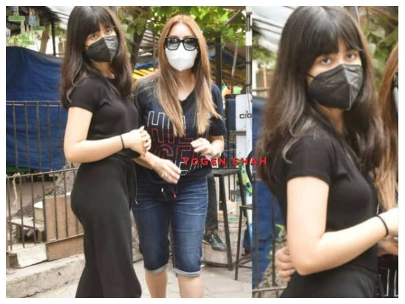 Mahima Chaudhry gets snapped outside a dentist with daughter Ariana, the actress reveals her daughter fell and broke her tooth