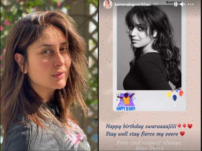 Bebo pens b'day note for 'Veere' Swara