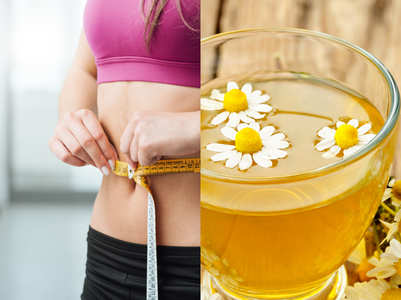 Chamomile shikanji to burn calories