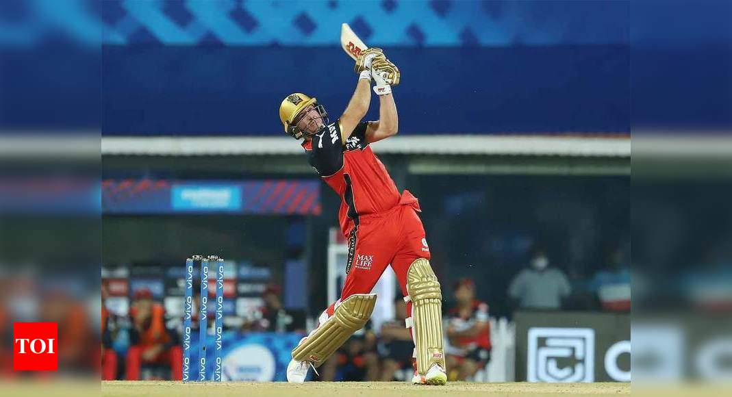 MI vs RCB: AB de Villiers scripts last-ball victory for Royal Challengers Bangalore | Cricket News – Times of India
