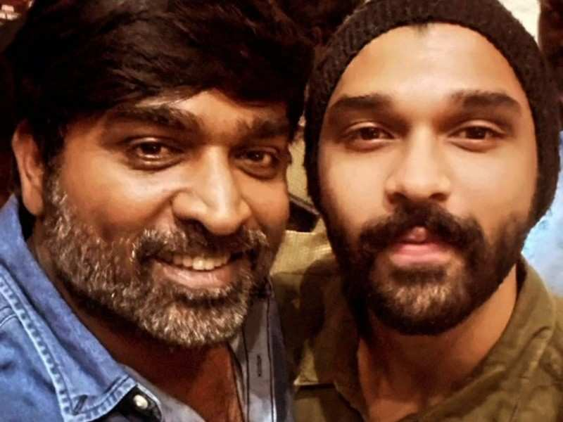 Dhruv Vikram's casual click with Vijay Sethupathi goes viral