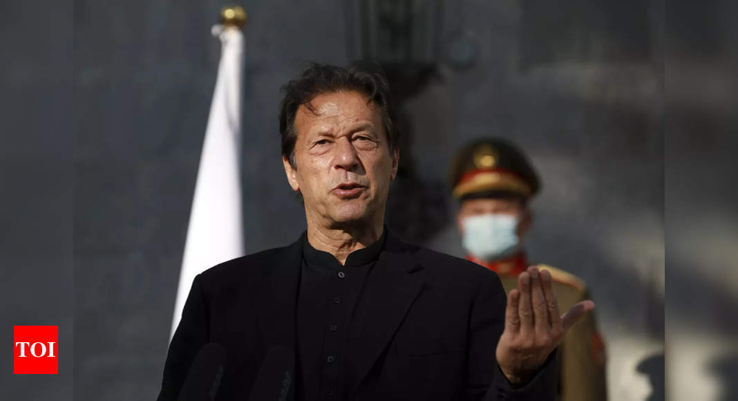 Protest erupts in Pakistan demanding Imran Khan to apologise over rape statement – Times of India