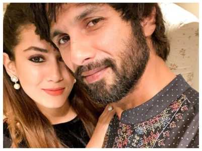 Shahid's reaction to Mira's post is unmissable