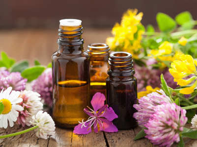 How to apply essential oils to different parts of body