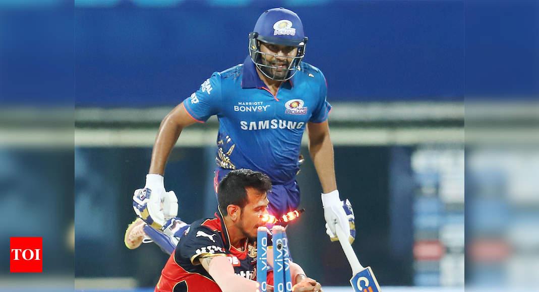 IPL 2021: Chris Lynn hoping Rohit Sharma's run-out doesn't hurt his chances | Cricket News – Times of India
