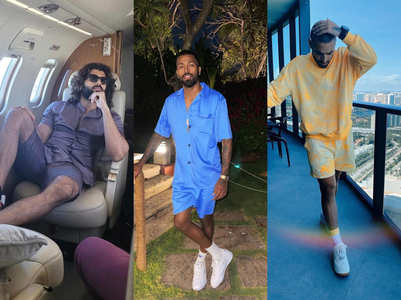 Celebs make co-ord sets popular for men