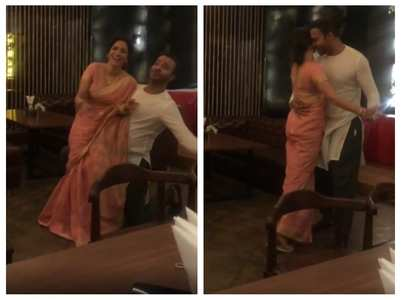 Ankita shares a romantic video with BF Vicky
