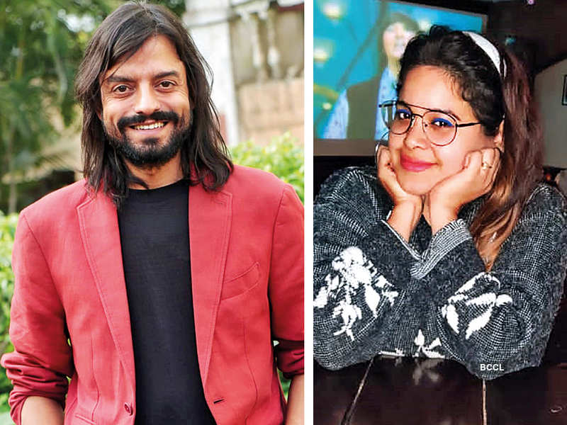 (L) Saharsh Kumar Shukla (R) Priyanka Pandey