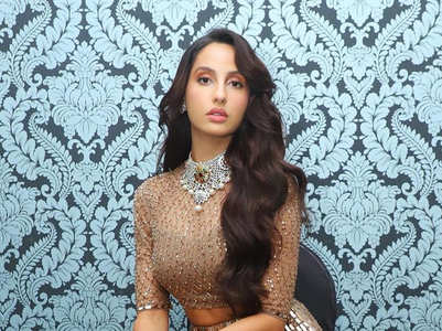 Nora Fatehi's glamorous lehenga looks