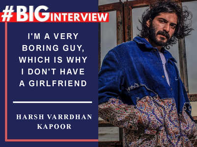 #BigInterview! Harsh Varrdhan on his Bollywood journey