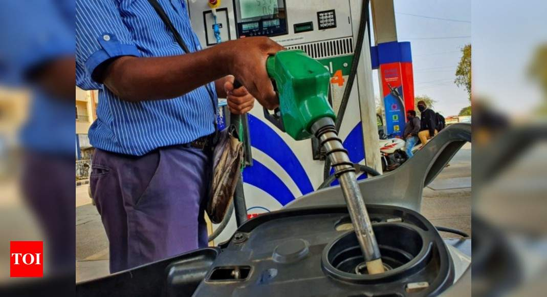 Petrol, diesel prices remain unchanged for 11th day