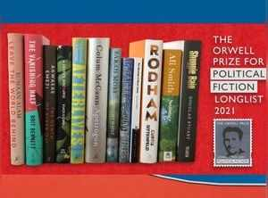 Orwell Prize for Political Fiction 2021 longlist