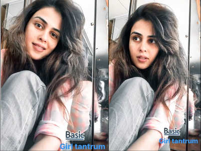 Genelia throws a 'basic girl tantrum'