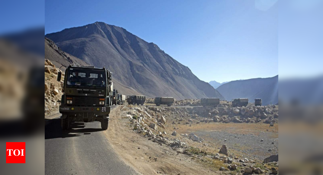 No breakthrough in India-China military dialogue on disengagement in eastern Ladakh | India News – Times of India