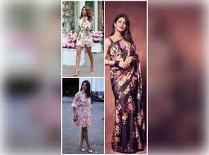 Priyanka Chopra's alluring floral wardrobe