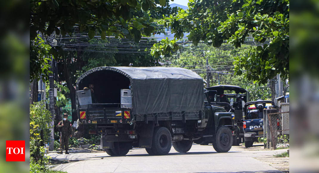 Myanmar security forces kill over 80 anti-coup protesters: Group - Times of India