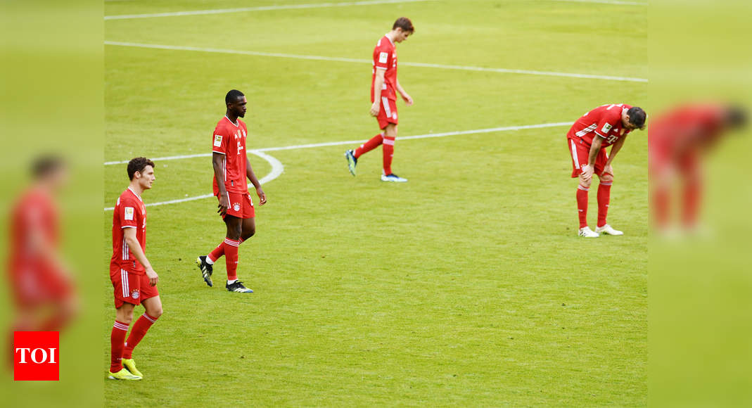 Second-string Bayern stumble to 1-1 draw versus Union Berlin