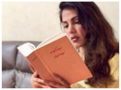 Rhea shares verse from Tagore's Gitanjali