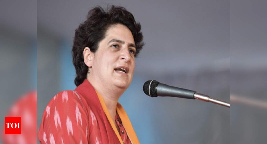 Cancel CBSE board exams: Priyanka Gandhi to education minister Pokhriyal