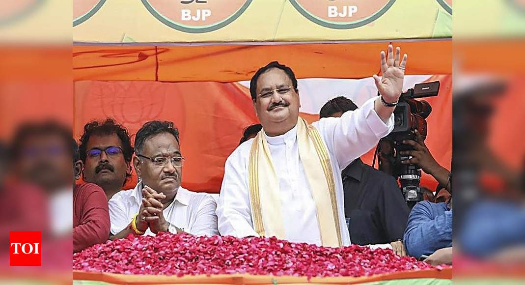 J P Nadda asks BJP members to work to make 'Tika Utsav' successful