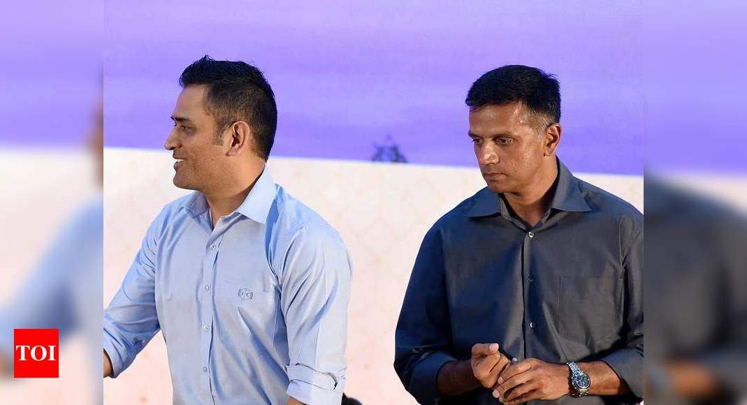 Had seen Dravid's anger directed at Dhoni: Sehwag