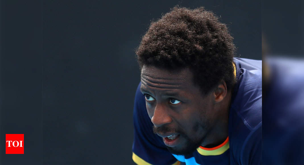Injured Gael Monfils limps out of Monte Carlo Masters
