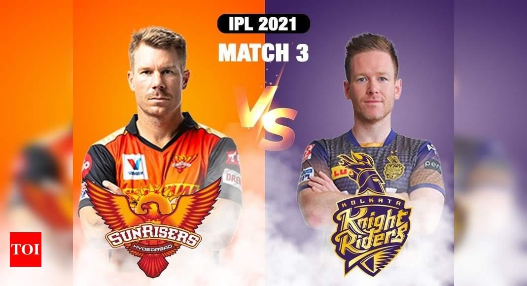 IPL 2021 Live Score: Sunrisers Hyderabad vs Kolkata Knight Riders