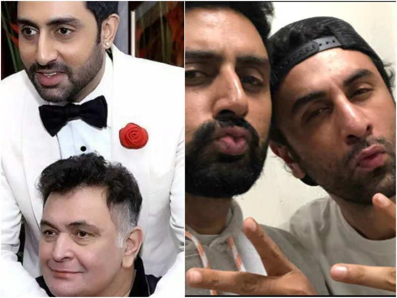 Abhishek Bachchan on how late Rishi Kapoor followed a gossip website to keep tabs on son Ranbir