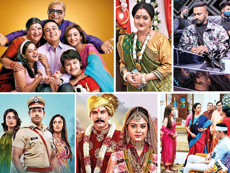 (Wagle Ki Duniya, Alpana Buch in Anupamaa, Dance Deewane, Ghum Hai Kisike Pyaar Mein, Molkki and a still of other actors in Anupamaa, many actors and crew members from these shows have tested positive).