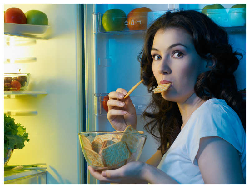 Late-night snacks can impact performance in the office?