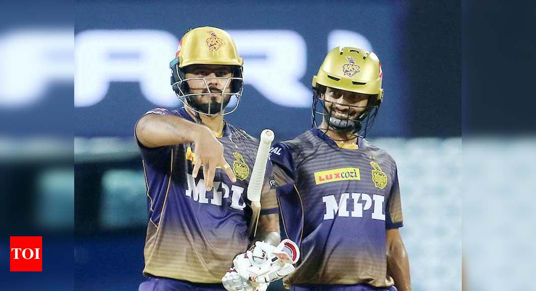 Nitish Rana sets up Kolkata Knight Riders' win against Sunrisers Hyderabad