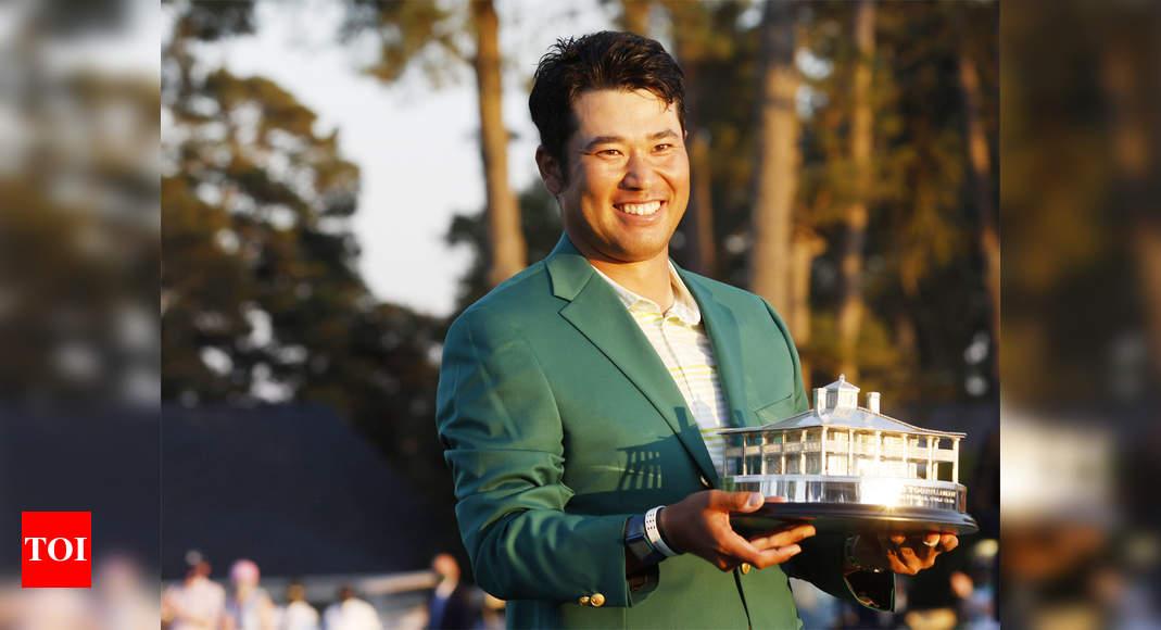 Matsuyama holds off Schauffele to win historic Masters title