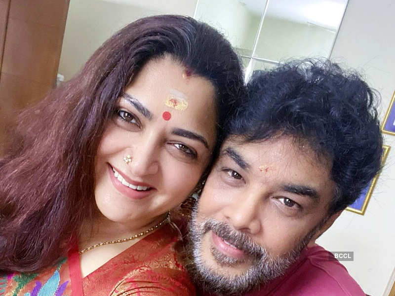 Khushbu Sundar tests negative for COVID-19; hubby Sundar C hospitalised after testing positive for the virus (Photo - Instagram)