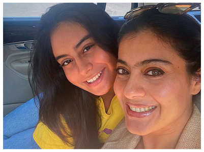 Watch: Nysa dances to Kajol's hit songs