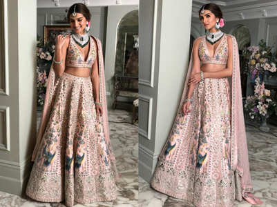 Tara Sutaria looks like a new bride in this lehenga