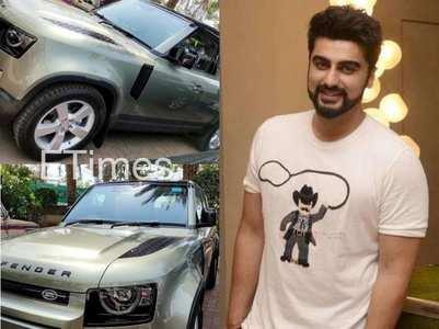 Pics: Arjun Kapoor's new swanky car