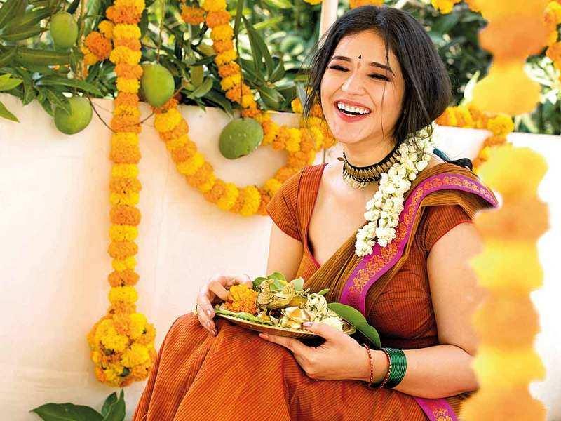 Celebrating Ugadi gives me a sense of hope in these tough times: Priyanka Jawalkar