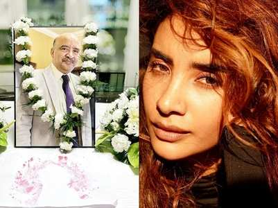 Patralekhaa mourns the demise of her father