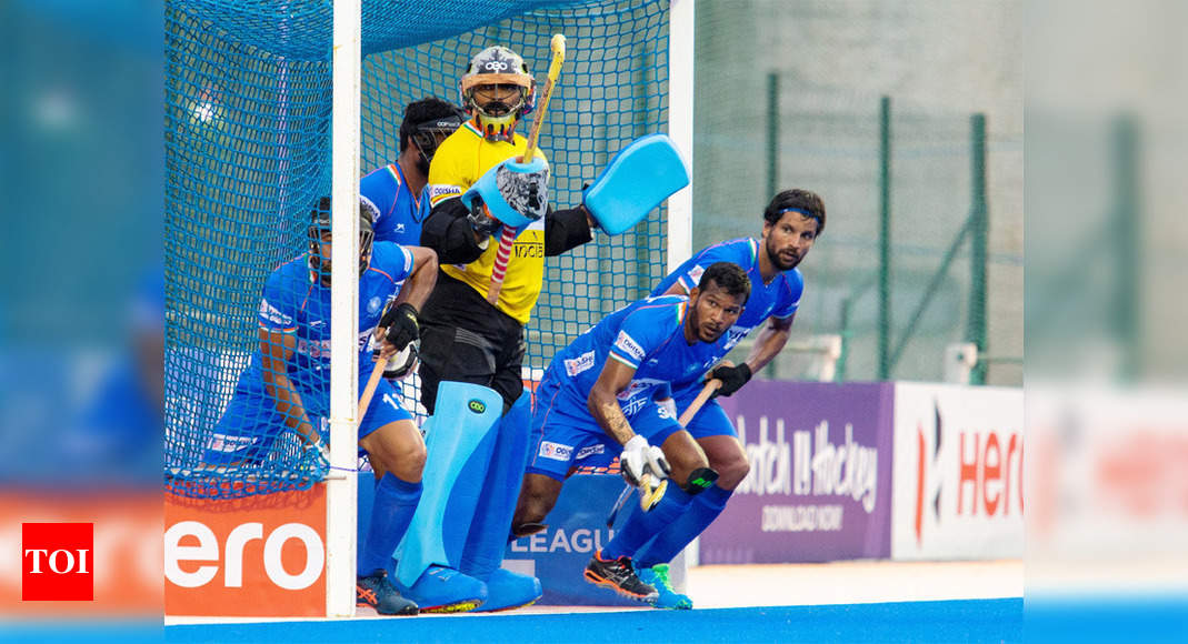 Indian men's hockey team drops one place to 5th in FIH rankings | Hockey News – Times of India