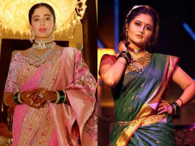 Gudi Padwa: Actresses flaunt nauvari sari