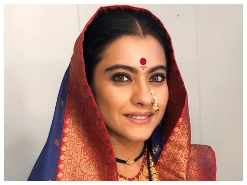 Kajol wishes fans on Gudi padwa with a picture of her character 'Savitribai' from 'Tanhaji: The Unsung Warrior'