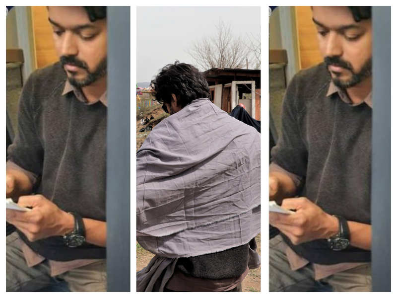 Vijay's latest click from Thalapathy 65 shooting spot