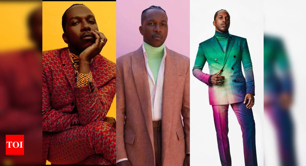 Leslie Odom Jr is fashion's new favorite boy