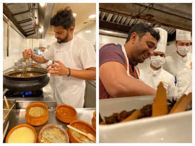 IPL 2021: Suresh Raina and Ambati Rayudu turn chefs, internet is loving it!