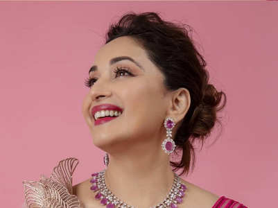Madhuri Dixit's most gorgeous lehenga looks