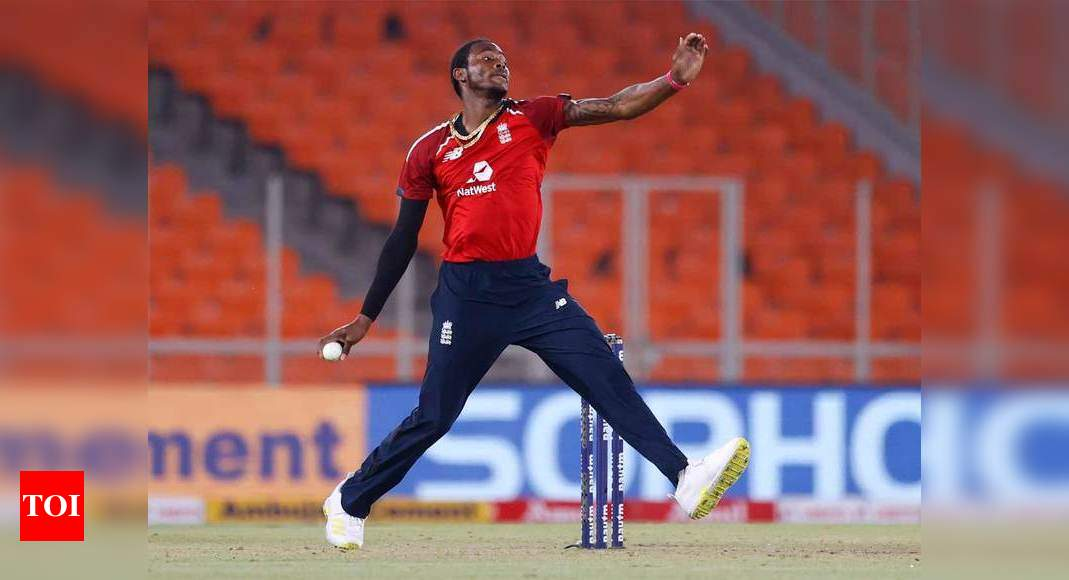 England paceman Jofra Archer cleared to train again after hand surgery | Cricket News – Times of India