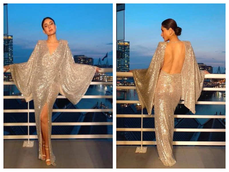 Photos! When Kareena Kapoor Khan rocked this stunning shimmery outfit and how!