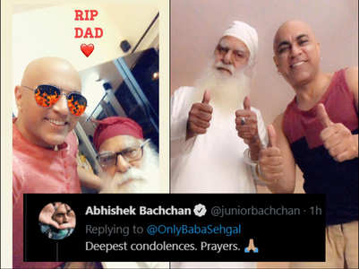 Baba Sehgal's father succumbs to Covid