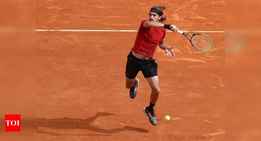 Tsitsipas strolls into Monte Carlo last 16, Djokovic to face rising star Sinner | Tennis News – Times of India
