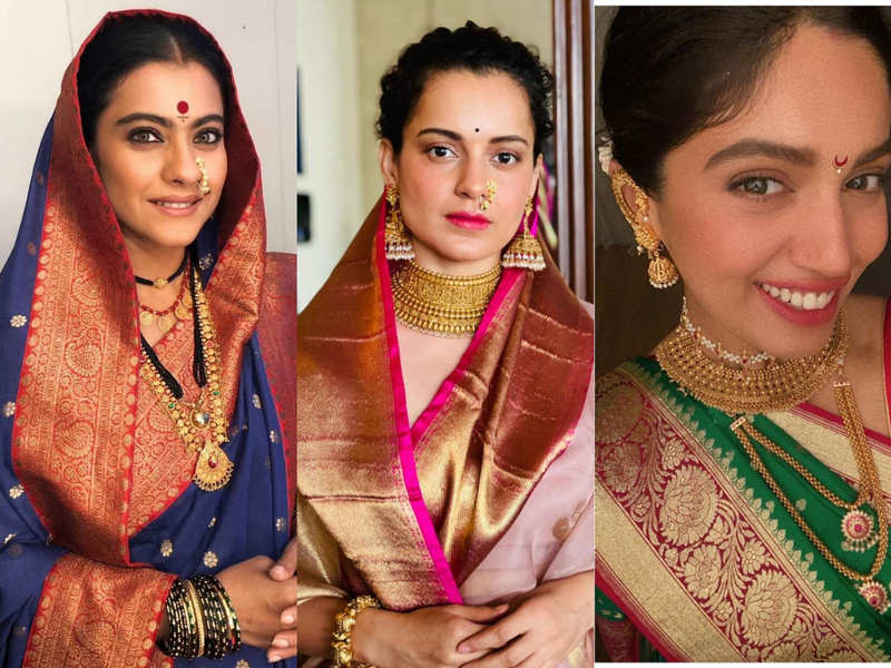 Meet the celebs who dressed  up for Chaitra Navratri and Gudi Padwa